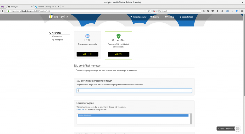 Skaffa ett gratis SSL certifikat till din wordpress -sida 6