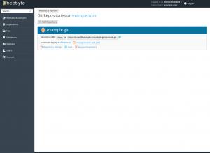 Webhosting med Git 7